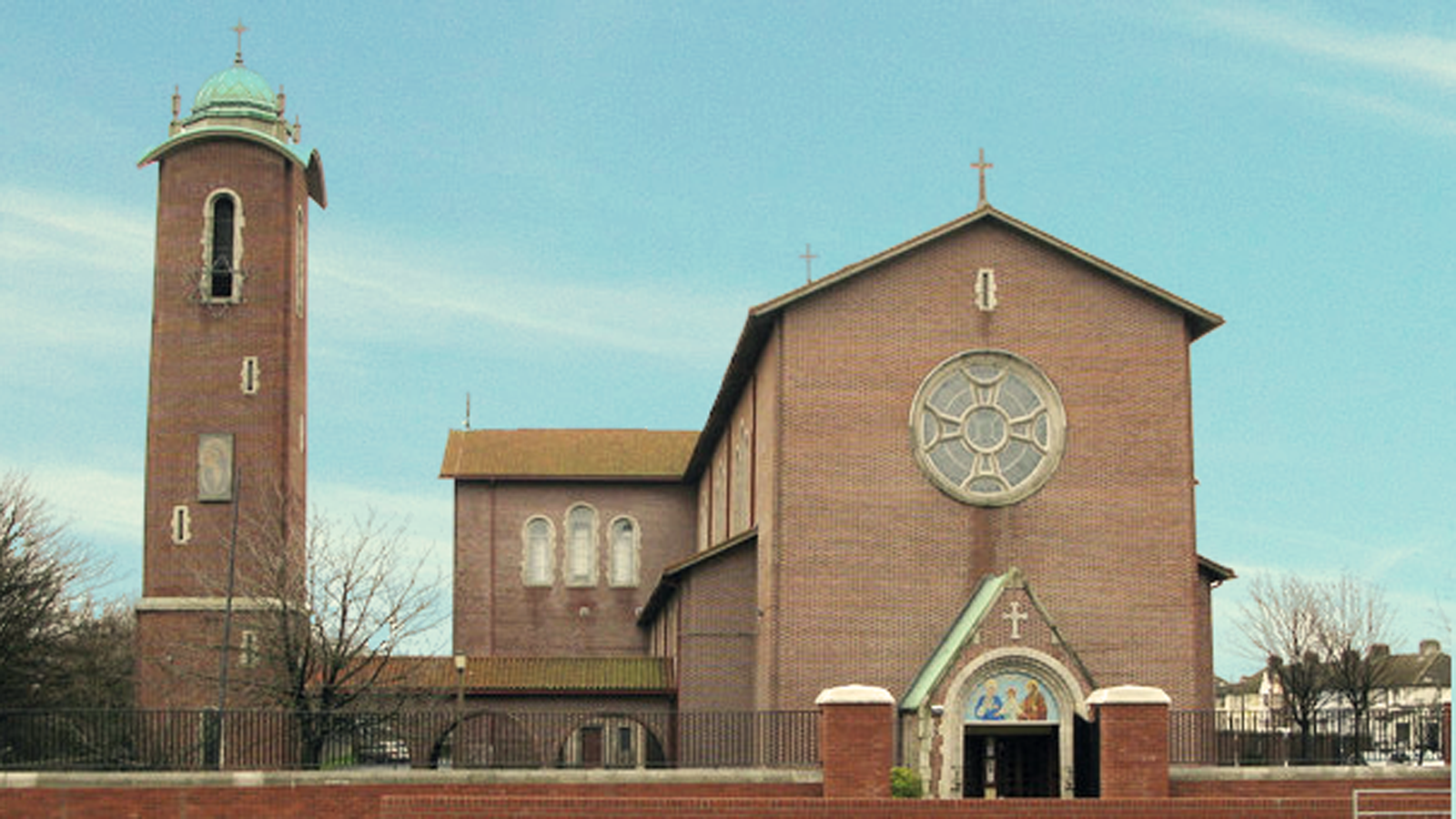 The Church of the Holy Child, Whitehall - The Thatch Road, Whitehall