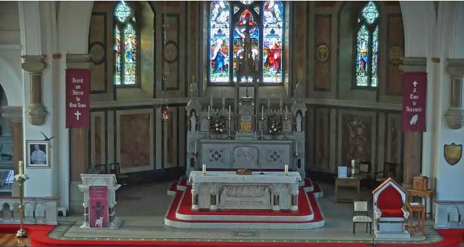 Holy Hour in Holy Cross, Lisnaskea