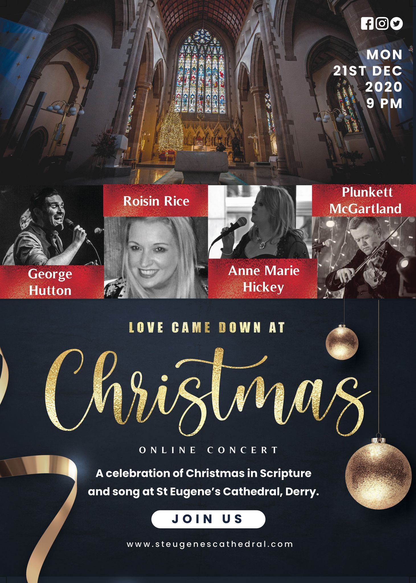 Christmas Concert - Derry Cathedral