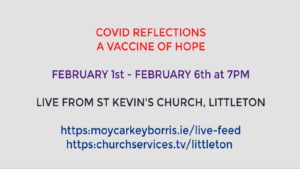 Covid Reflections, a vaccine of hope