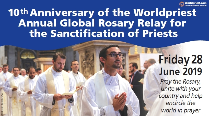 Worldpriest Annual Global Rosary Relay